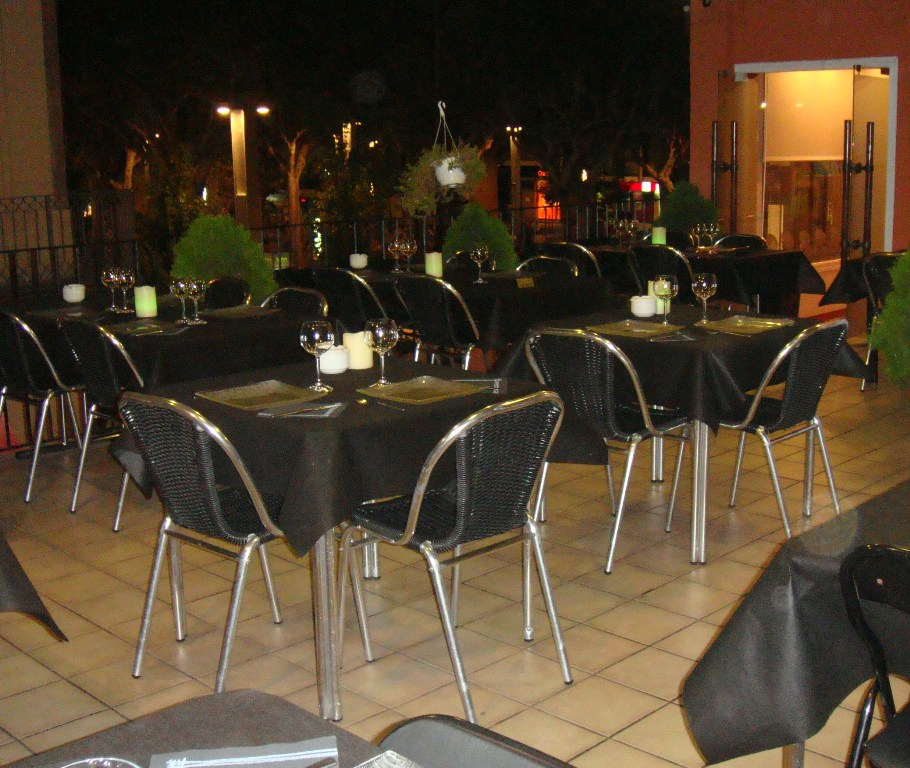 terrassa de restaurant